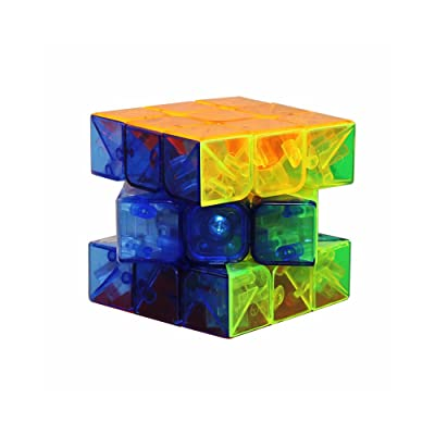 3 x 3 x 3 Rubik's Cube Transparent Professional competition Smooth Rubik's Cube
