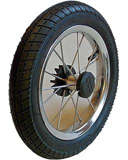 Bremskranz f/ür Kinderwagen Rad mit Metallspeichen und Nabe 30 mm
