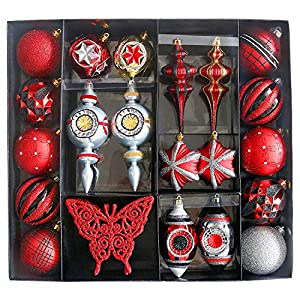 Valery Madelyn Christmas Ball Ornaments Decorations 5