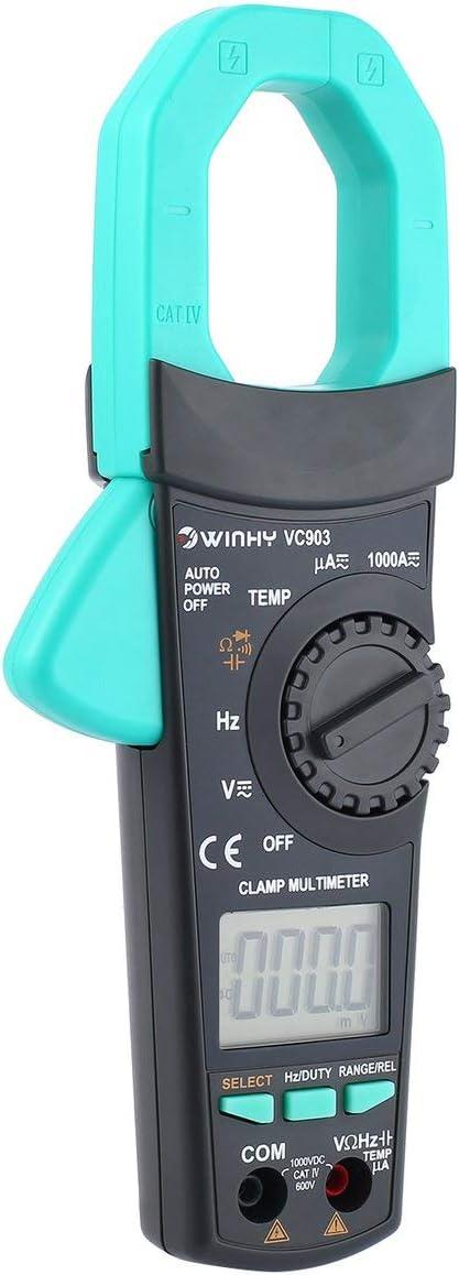 Multim/ètre Multim/ètre Multim/ètre Fluke Conduit Pince Amp/èrem/étrique Vc903 Dc//Ac Volt Amp/ère Ohm Mini Multim/ètre