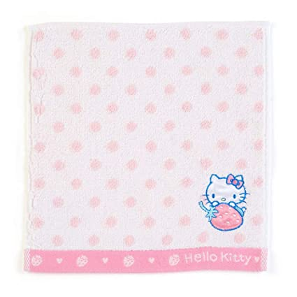 e97300f5f Amazon.com: Sanrio Original Hello Kitty Hand Towel : Dots: Toys & Games