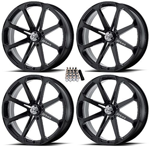 MSA M12 Diesel UTV Wheels/Rims Black 22