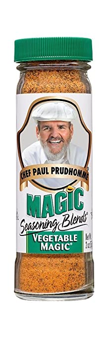 Chef Paul Prudhomme's Magic Seasoning Blends ~ Vegetable Magic