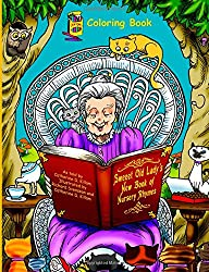 Sweeet Old Lady's New Book of Nursery Rhymes Coloring Book