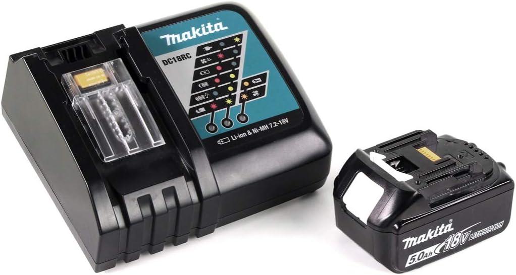 Makita DCL 180 RT1 W - Aspirador con batería de ion de litio (18 V ...