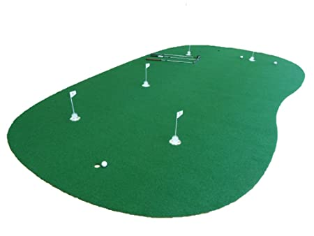 StarPro 9ft x 15ft 5-Hole Professional Practice Putting Green Best in the World.