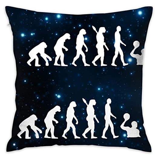 MZZhuBao Evolution Water Polo Throw Pillow Covers Square ...