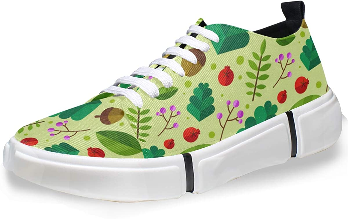 FANTAZIO Leaves and Nuts - Zapatillas de Running para Hombre ...