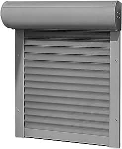 brr exactus – Tipo Loop, 39 mm de aluminio Láminas 88 x 150 cm con controles enrolladores, aspecto: Izquierda como Medida, Plateado: Amazon.es: Bricolaje y herramientas