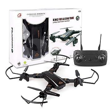 Mallalah Drone Plegable 2019 Nueva cámara Tiempo Real WiFi FPV 6 ...