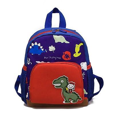 BaZhaHei Baby Boys Girls Kids Bag Dinosaur Pattern Cartoon Backpack Toddler School  Bags Zipper Shoulder Bags ecbbeb18db