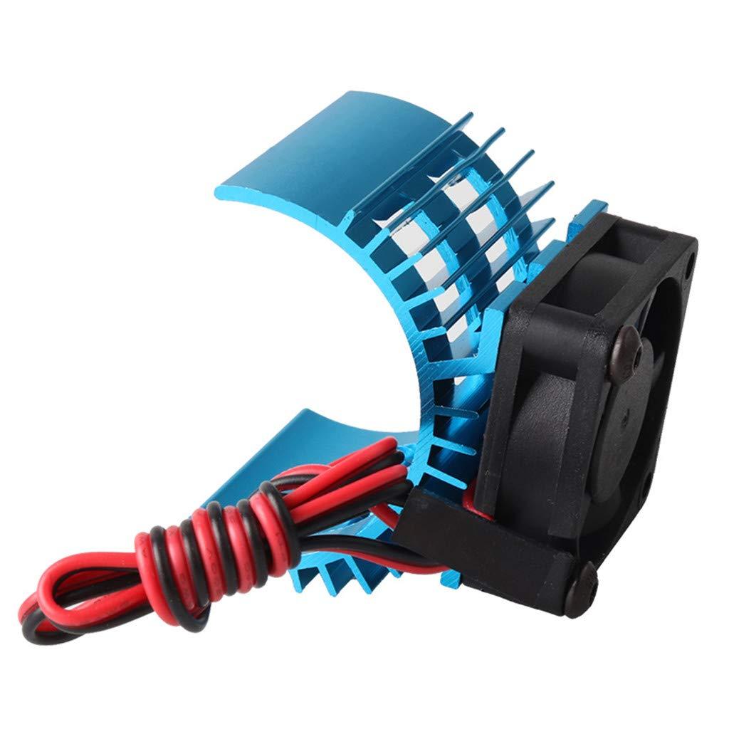 Ventilateur Refroidisseur 1//10 pour HSP Himoto Redcat Bleu FairOnly RC Pi/èces Brushless Aluminium /Électrique 540 550 Moteur Dissipateur de Chaleur Couvercle