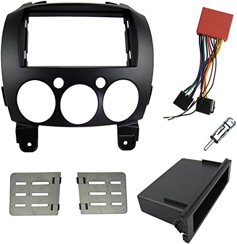 Single Din Install Stereo Faceplate BMW 3 Series Radio DASH KIT