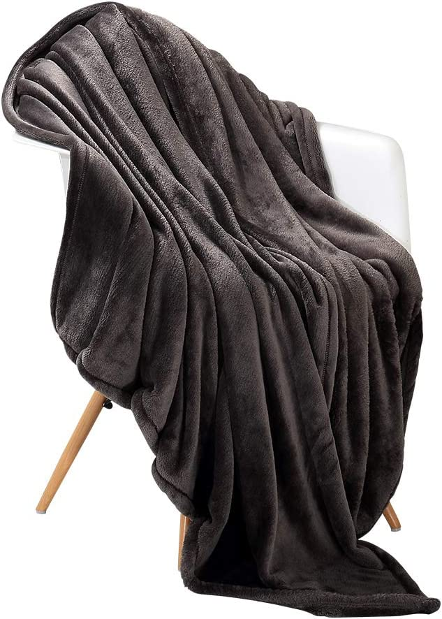 Home Solid Twist Pattern Sofa Bed Warm Cloud velvet Fleece Flannel Blanket