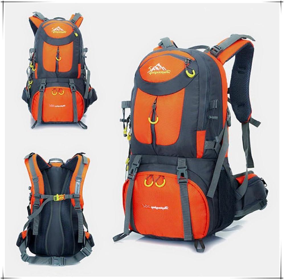 UCSLIFE Mochila Trekking Impermeable 55L /& 50L Mochilas para Excursionismo monta/ñismo Deportiva Adecuado para Hombre Juveniles Mochilas Camping Senderismo al Aire Libre Deportes