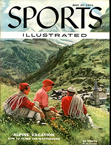 Reviews/Comments 1955 Sports Illustrated Alpine Vacation Label Newsstand / + 22308