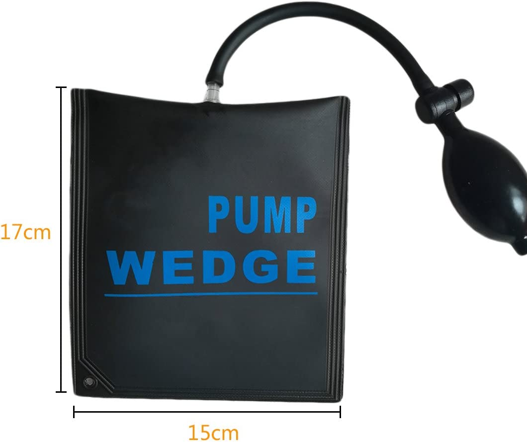 US PDR Pump Wedge Automotive Air Pump Inflatable Shim Cushioned Hand Tool 4 Type