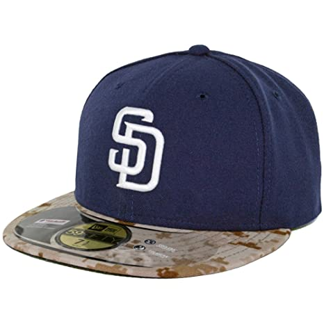 b3224e488d5834 Amazon.com : San Diego Padres Memorial Day 2015 fitted hat (8 ...