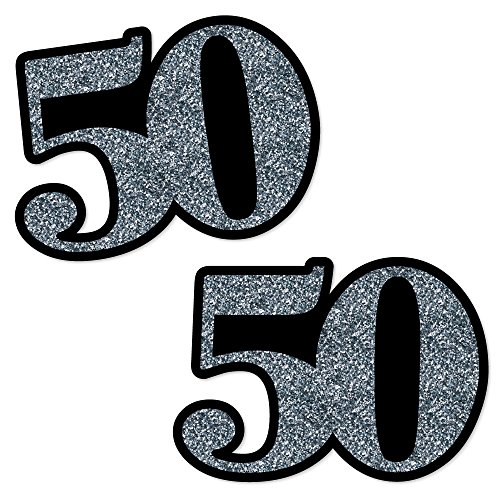 Adult 50th Birthday Decorations Essentials