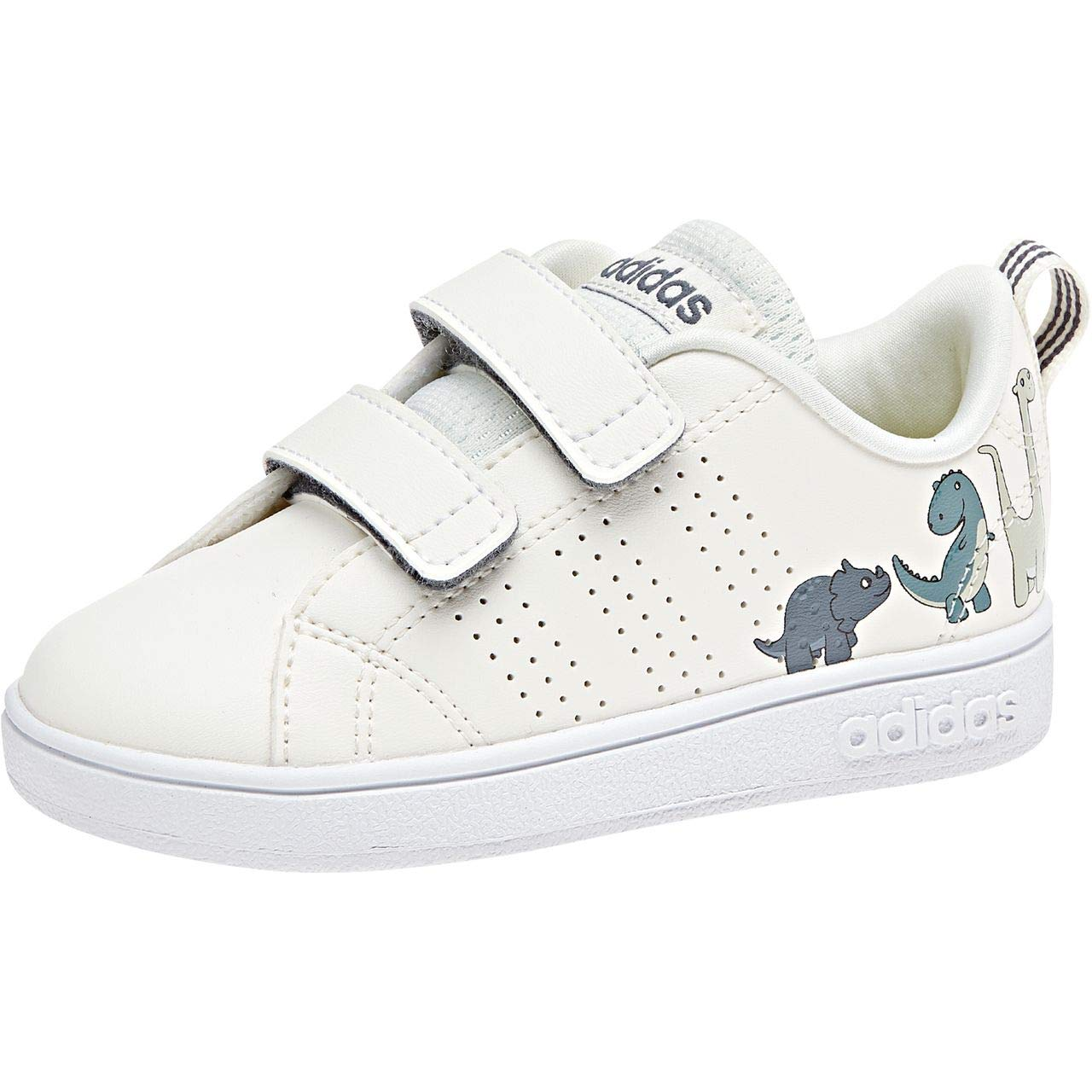 more photos bc9cd c5e1f adidas Unisex Kids  Vs Adv Cl CMF Inf Fitness Shoes, White Blanub Onix 000  7 UK  Amazon.co.uk  Shoes   Bags