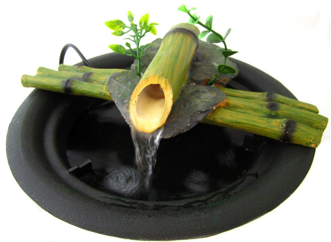 fuente zen para interiores bambu amazones hogar - Fuentes Zen