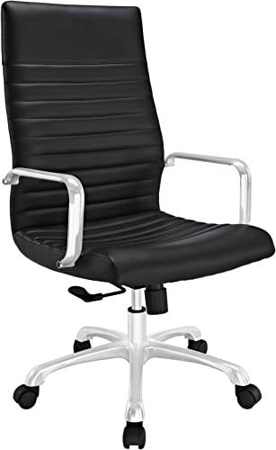 Modway Finesse Ribbed High Back Computer Desk Office Chair