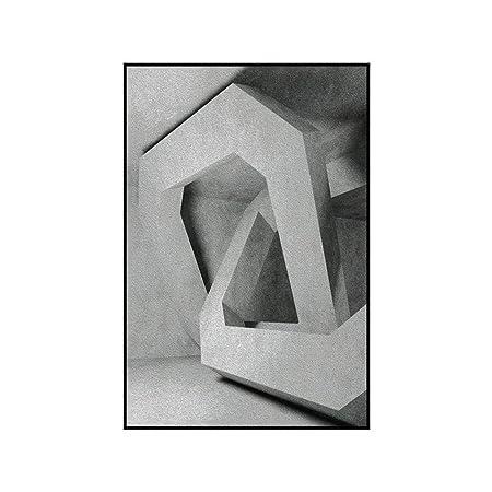 jzxjzx Sin Marco Simple Moderna Pintura Decorativa Triple ...