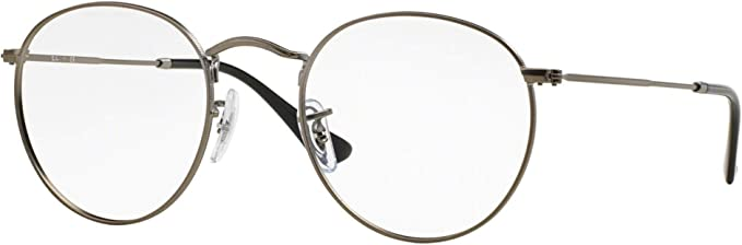 ray ban ronde grise