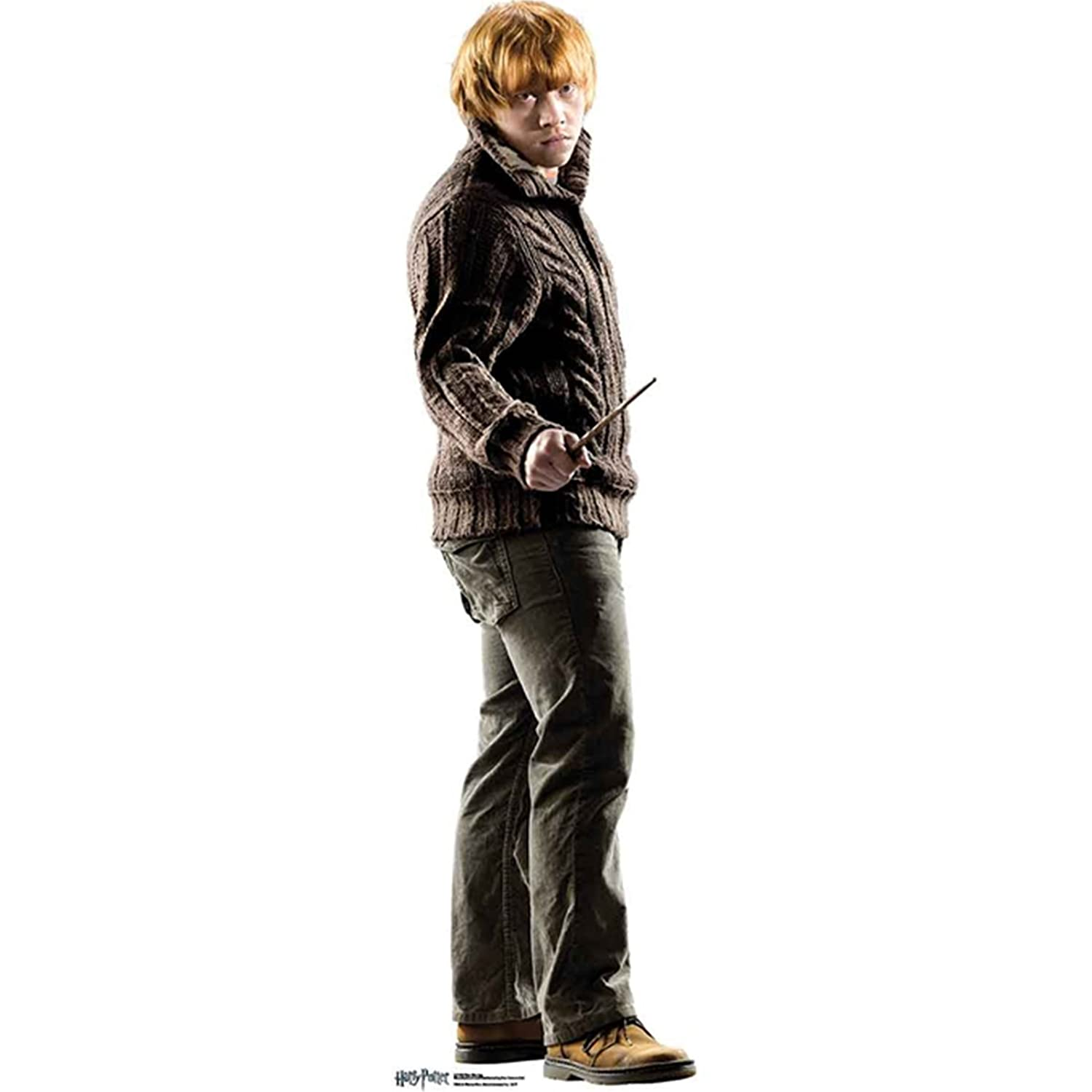 From the Official Harry Potter Books Star Cutouts Mini Cardboard Cutout of Ron Weasley 92 cm Tall STAR CUTOUTS LTD SC1963