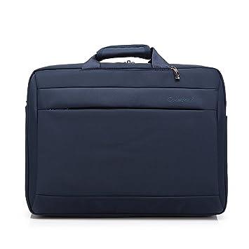 akaufeng 15,6 Business Mochila Laptop resistente al agua Uni Mochila Bolsa con 3 distintos tipos Función Mochila, bolso, bolso de mano azul: Amazon.es: ...