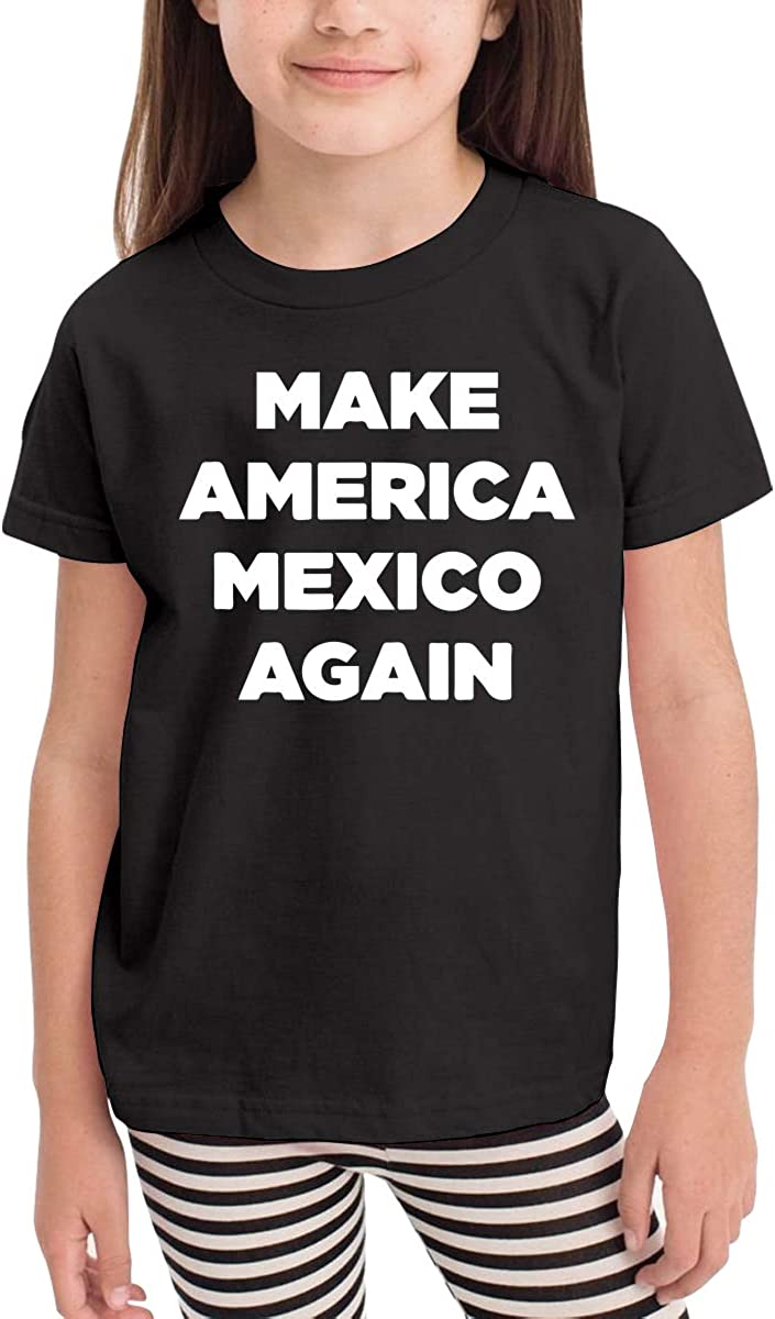 Kcloer24 Baby Boy Make America Mexico Again Personality T-Shirt Summer Tee for 2-6 Years Old
