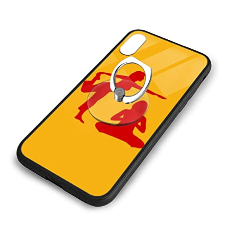 Amazon.com: iPhone X Plus Cover Yoga Case with Finger Ring ...