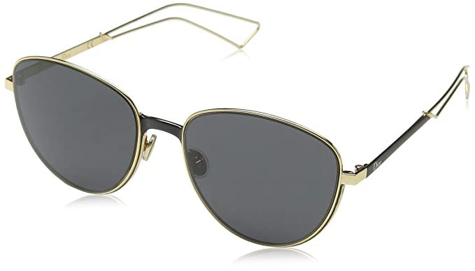 9e5fcc328cd4 Image Unavailable. Image not available for. Color  Christian Dior  Ultradior S Sunglasses Matte Black Gold Gray
