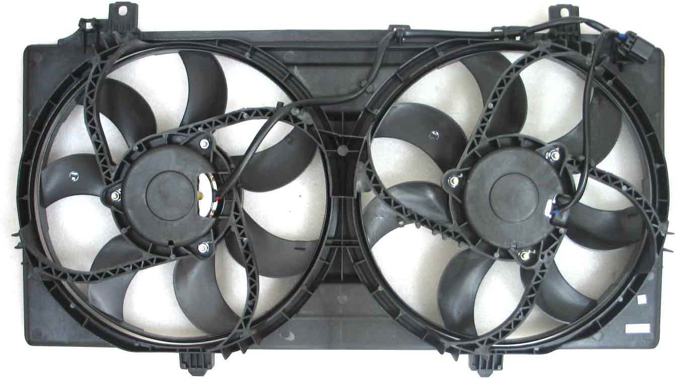 DEPO 335-55067-000 Replacement Engine Cooling Fan Assembly (This product is an aftermarket product. It is not created or sold by the OE car company)