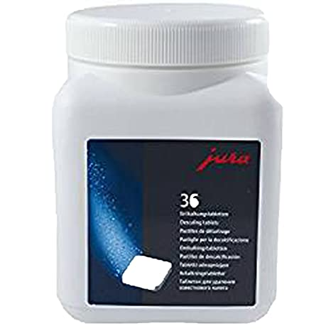 Jura Coffee Machine Descaling Tablets Pack Of 36 Tablets