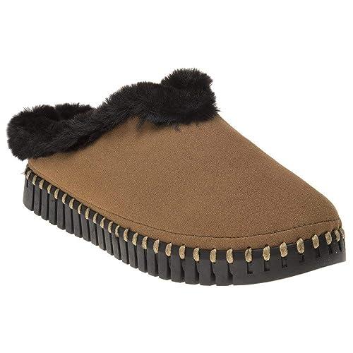 f3fb2c23730bb ILSE JACOBSEN Tulip3150 Slippers Tan: Amazon.co.uk: Shoes & Bags