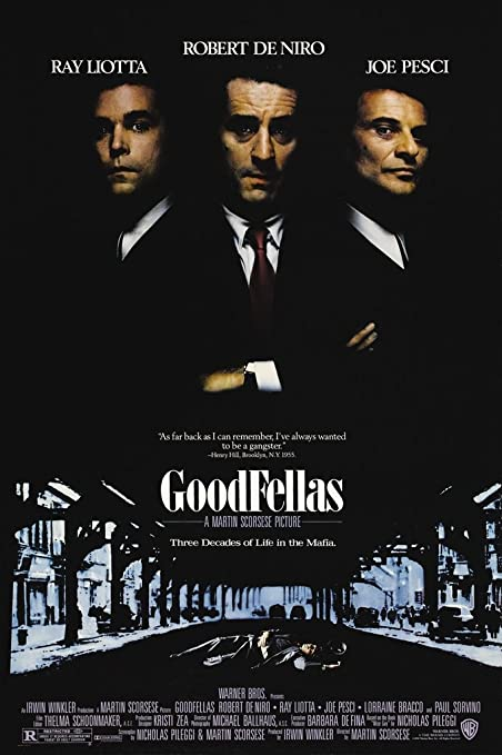 GoodFellas Classic Large Movie Poster Print