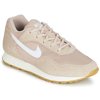 Nike Damen Woutburst Sneakers, Mehrfarbig (Particle Beige