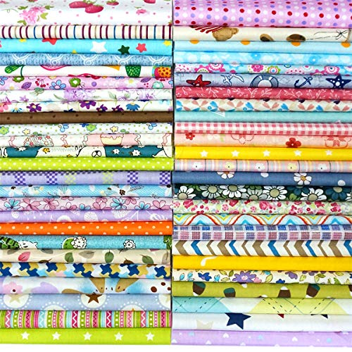 Quilting Fabric, Misscrafts 200pcs 6