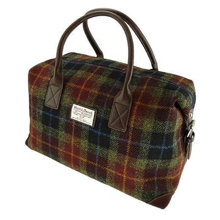 380d0d973 Glen Appin Harris Tweed Travel Overnight Bag: Amazon.co.uk: Luggage