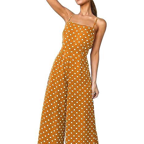 Go First Vestido De Moda De Verano para Mujer Polka Dot Vestido ...