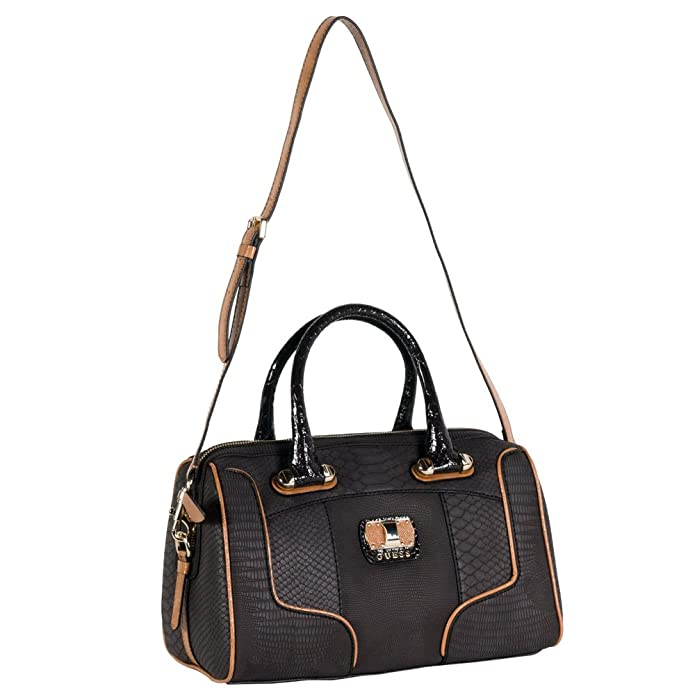 Guess Jemma Box Satchel Black Multi in schwarz | fashionette