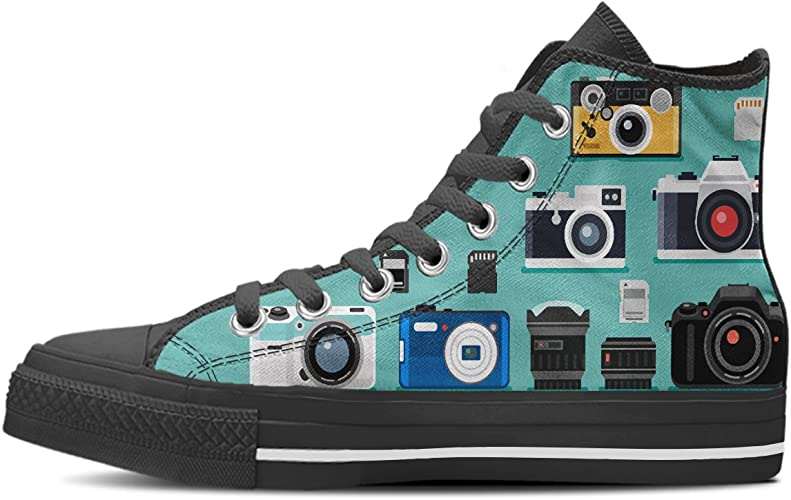 Gnarly Tees Womens Planet Shoes High Top