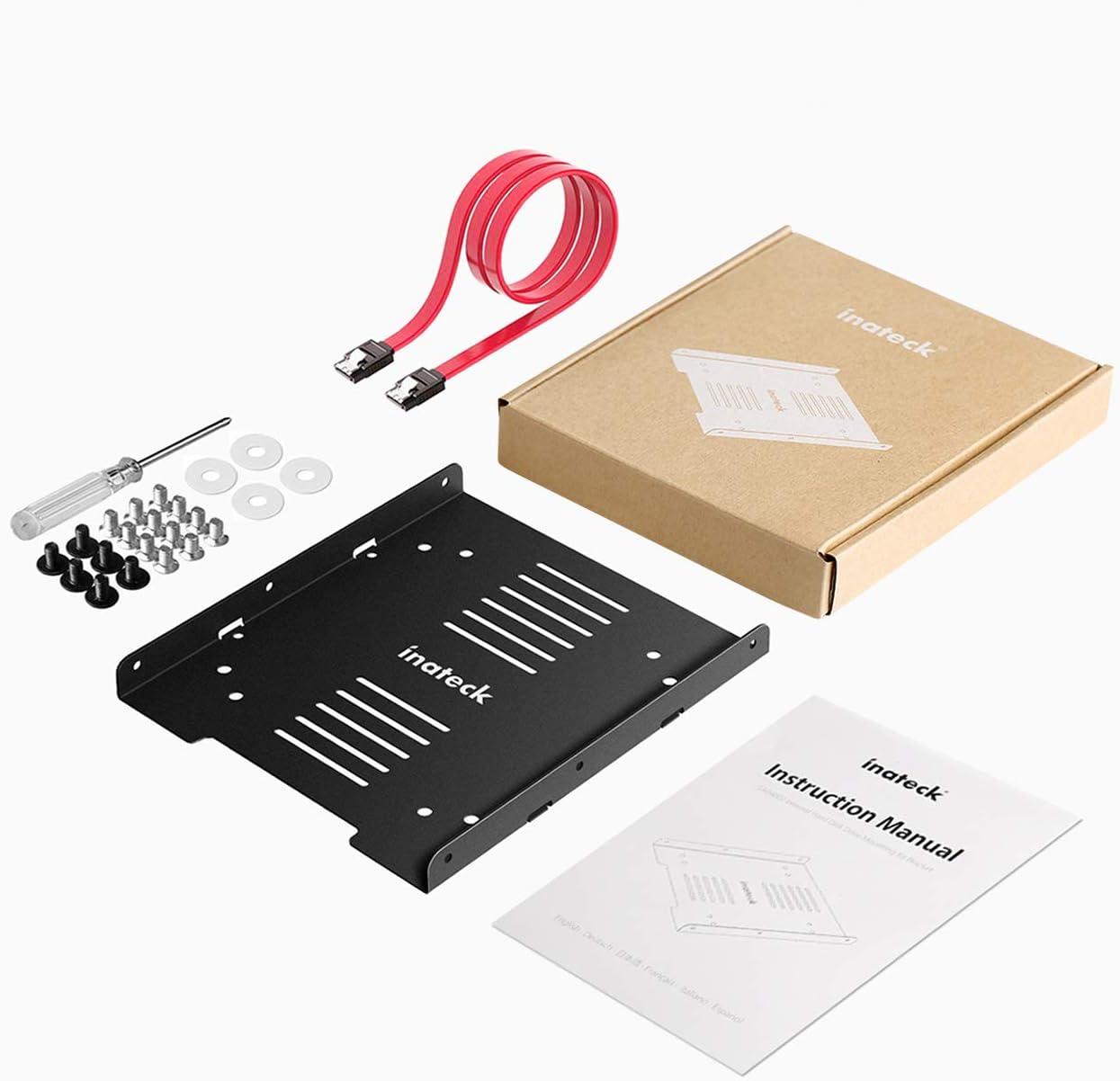 fr SSD und HDD Inateck Festplattenhalterung 2,5 Zoll auf 3,5 Zoll ...