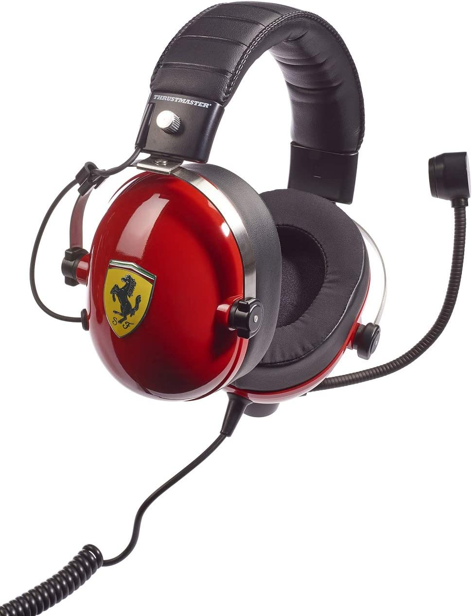 Thrustmaster T.Racing Scuderia Ferrari Edition (Gaming-Headset, 50mm, PS4 / Xbox One / PC)