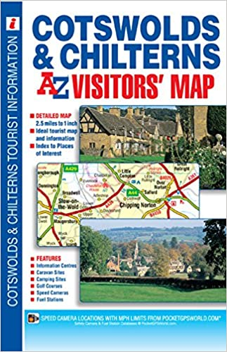 Cotswold & Chilterns Visitors Map: Geographers A-Z Map Co ... on nc map, ut map, mc map, ca map, sc map, mo map, or map, mn map, ihb map, pm2.5 map, de map, un map, cu map, la map, az map, colorado map, fl map, no map, sd map,