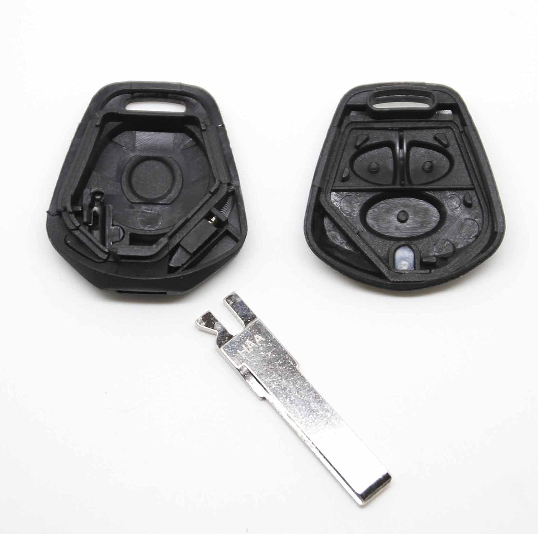 Porsche 911 996 Boxster S 986 3 Button remote key REFURBISH fix kit