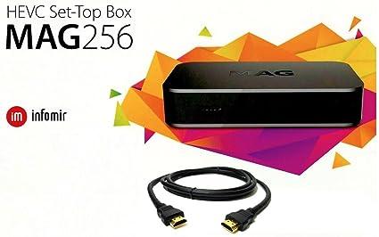 MAG 256 Latest Original Linux IPTV: Amazon co uk: Electronics