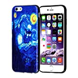iPhone 8 Doctor Who Case, IMAGITOUCH Doctor Who Tardis Starry Night Case Anti-Scratch Shock Proof Soft Touch Slim Fit Flexible TPU Case Bumper Cover for iPhone 8 Doctor Who Starry Night TPU