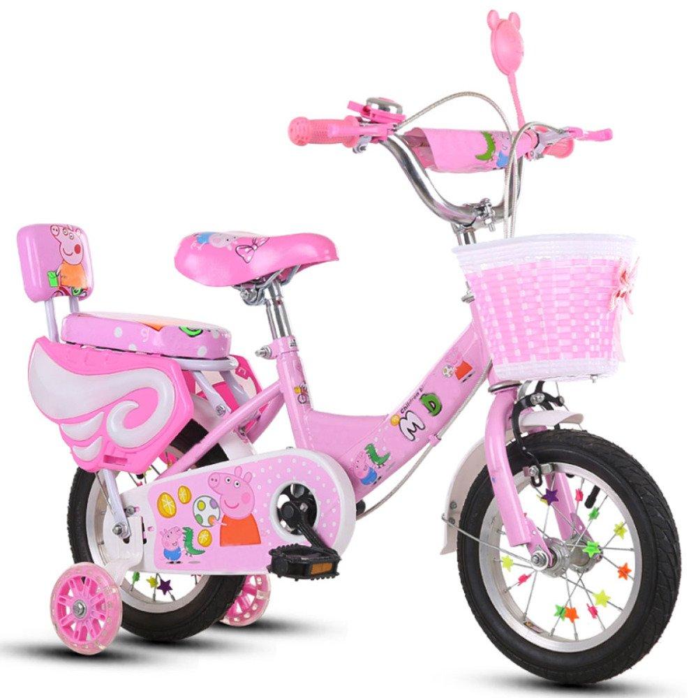 QXmEi自転車子供2 – and – 4-6 02170 – 8 Boys and Girls高炭素鋼フレーム12/14/16/18インチBike 14Inches ピンク 02170 B07DBW47PB 18Inches|Pink(flashwheel+fence) Pink(flashwheel+fence) 18Inches, 健康と快適生活:787da514 --- itxassou.fr